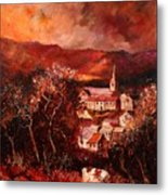 Hour Village 67 Metal Print