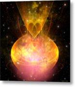 Hourglass Nebula Metal Print