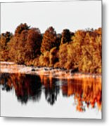 Housatonic River Mist Metal Print