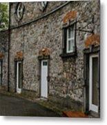 House And Street In Kilkenny Metal Print