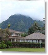 House At Hanalei Bay - Kauai - Hawaii Metal Print