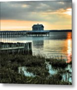 House At The End Of The Pier II Metal Print