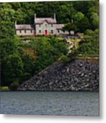 House By The Llyn Peris Metal Print