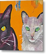 House Cats Metal Print