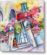 House Entrance In Garrucha Metal Print