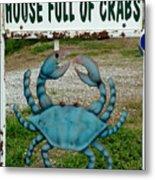 House  Full Of Crabs Metal Print