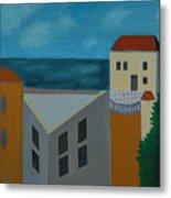 House In Jaffa  Metal Print