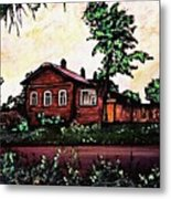 House In Sergiyev Posad   Metal Print