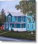 House in Seward Metal Print