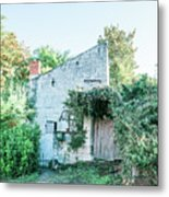 House In The Forest Metal Print