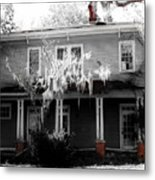 House In The Middle  Metal Print