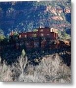 House Of Apache Fires Metal Print