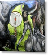 House Of Jade Metal Print