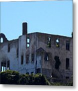 House Of The President Of Alcatraz. Metal Print