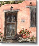 House On Delgado Street Metal Print by Sam Sidders