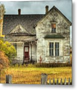 House On Elm Street Metal Print