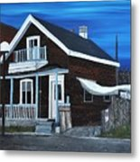 House On Hadley Street Metal Print