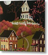 House On Haunted Hill Metal Print
