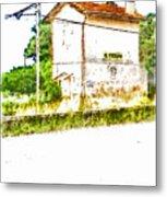 House On The Railway Metal Print