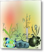 House Plants 3000  Metal Print
