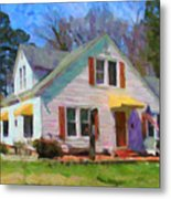 House Proud In Cary Metal Print