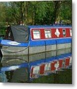 Houseboat Metal Print