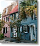 Houses In Charleston Sc Metal Print
