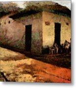 Houses Of Choroni Metal Print