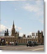 Houses Of Parliament.  Metal Print