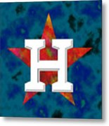 Houston Astros Logo Metal Print