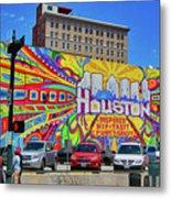 Houston, Inspired, Hip, Tasty, Funky, Savvy Metal Print