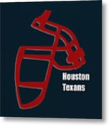 Houston Texans Retro Metal Print
