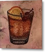 How About An Old Fashioned? Metal Print