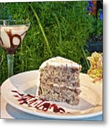 How About Dessert Metal Print
