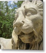 How Loud Is A Lion Metal Print