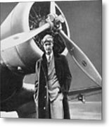 Howard Hughes, Us Aviation Pioneer Metal Print