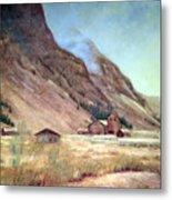 Howardsville Colorado Metal Print by Evelyne Boynton Grierson