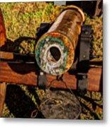 Howitzer Battle Of Honey Springs Metal Print