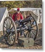 Howitzer Battle Of Honey Springs V3 Metal Print