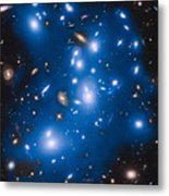 Hubble Sees Ghost Light From Dead Galaxies Metal Print