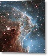 Hubble's 24th Birthday Snap Of Monkey Head Nebula Metal Print