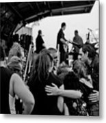 Huddle Up. Metal Print