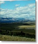 Hudson Bay Divide, From Looking Glass Metal Print