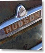 Hudson Car Emblem Metal Print