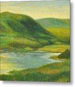 Hudson From Toll House Trail Metal Print