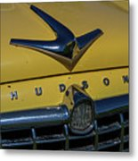 Hudson Hood Ornament And Logo Metal Print