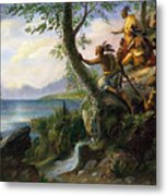 Hudson: New York, 1609 Metal Print