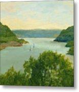 Hudson River From Bear Mt. Metal Print