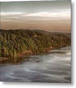 Hudson River Morning Metal Print