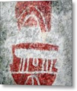 Hueco Rock Art 3 Metal Print